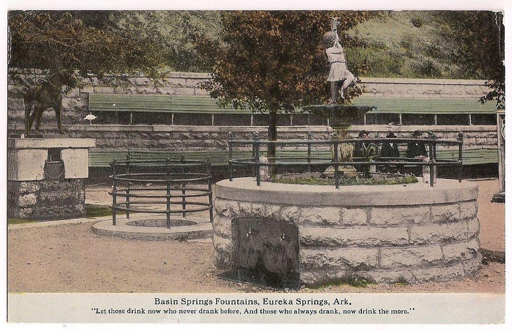 Eureka Springs, Arkansas, Basin Springs Fountains ...
