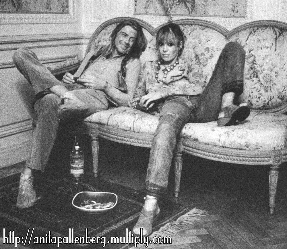 Anita + Tommy Weber, Villa Nellcote, 1971