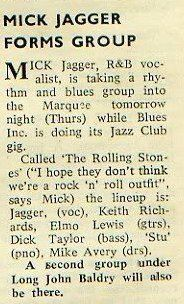 Roots of the Rolling Stones