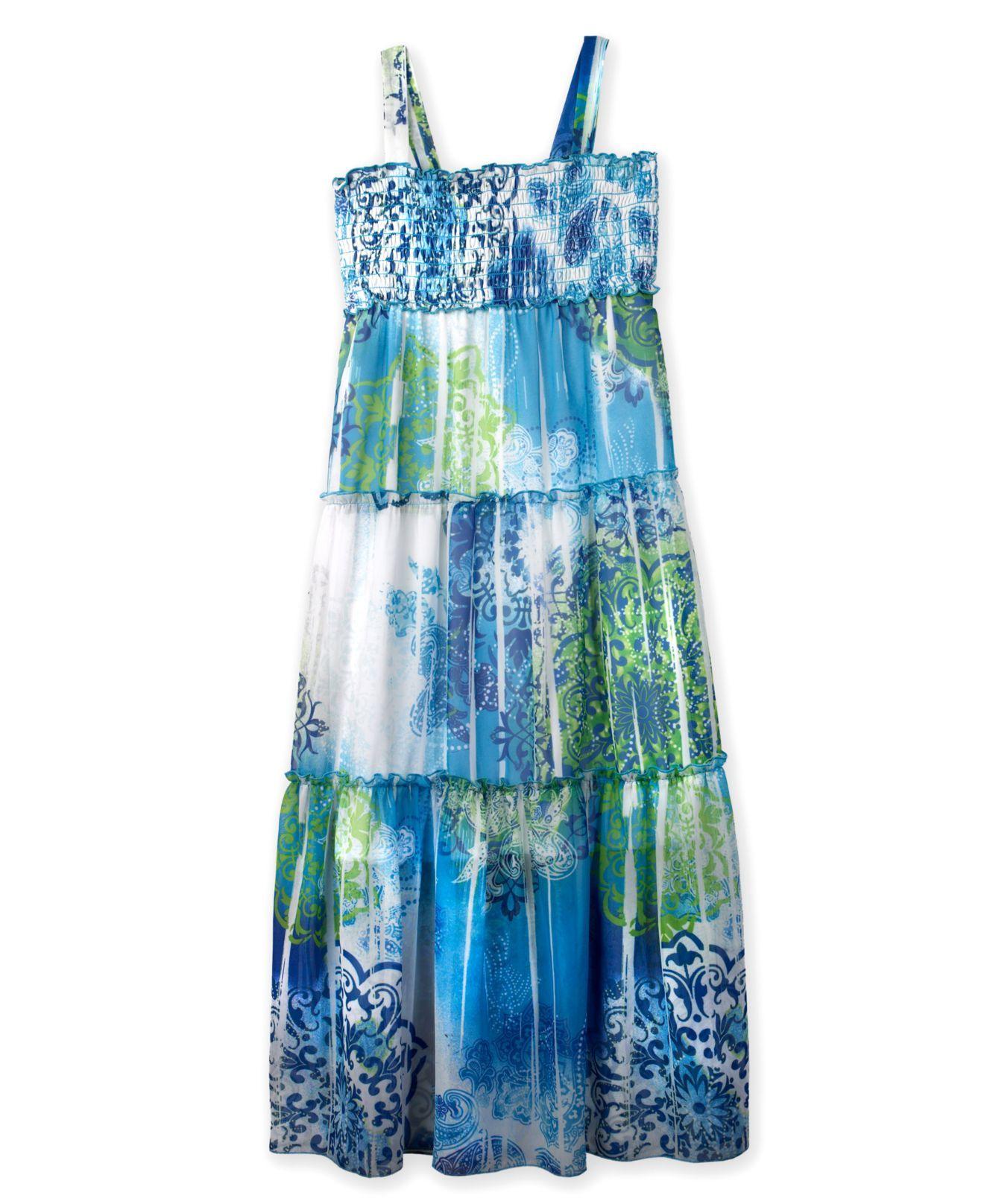 Bcx kids dress girls sublimation maxi dress kids girls macyus