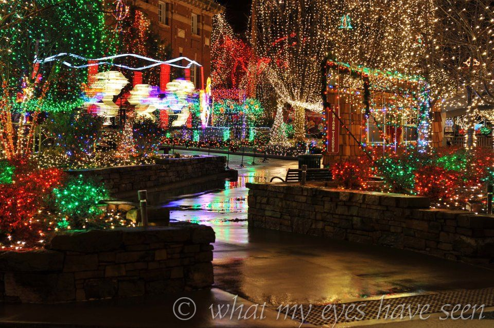 lights of the ozarks fayetteville ar httpwwwwhatmyeyeshaveseencom