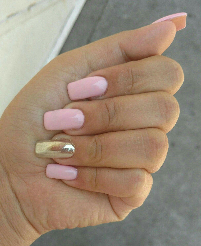 Efecto espejo (gelish) | Uñas | Pinterest | Espejo, Diseños de uñas ...