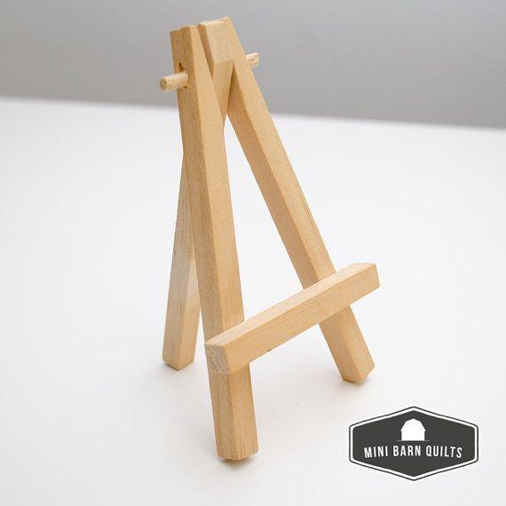 5 mini caballete por minibarnquiltkits en etsy caballete for Planos de mesas de madera pdf