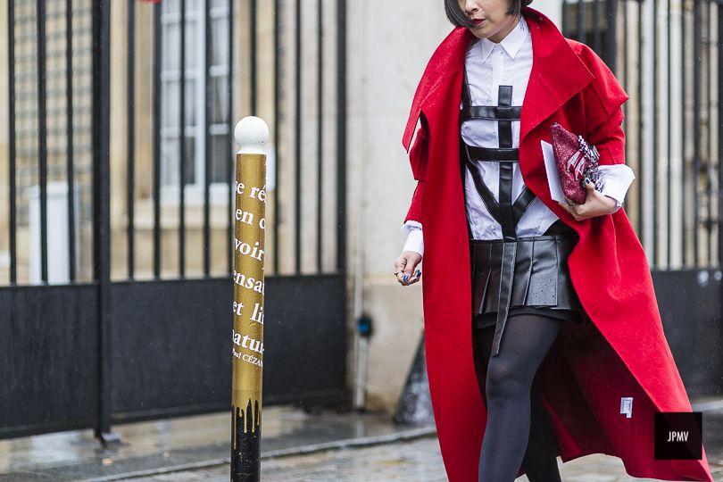 J'ai Perdu Ma Veste / Le rouge et le noir.  // #Fashion, #FashionBlog, #FashionBlogger, #Ootd, #OutfitOfTheDay, #StreetStyle, #Style