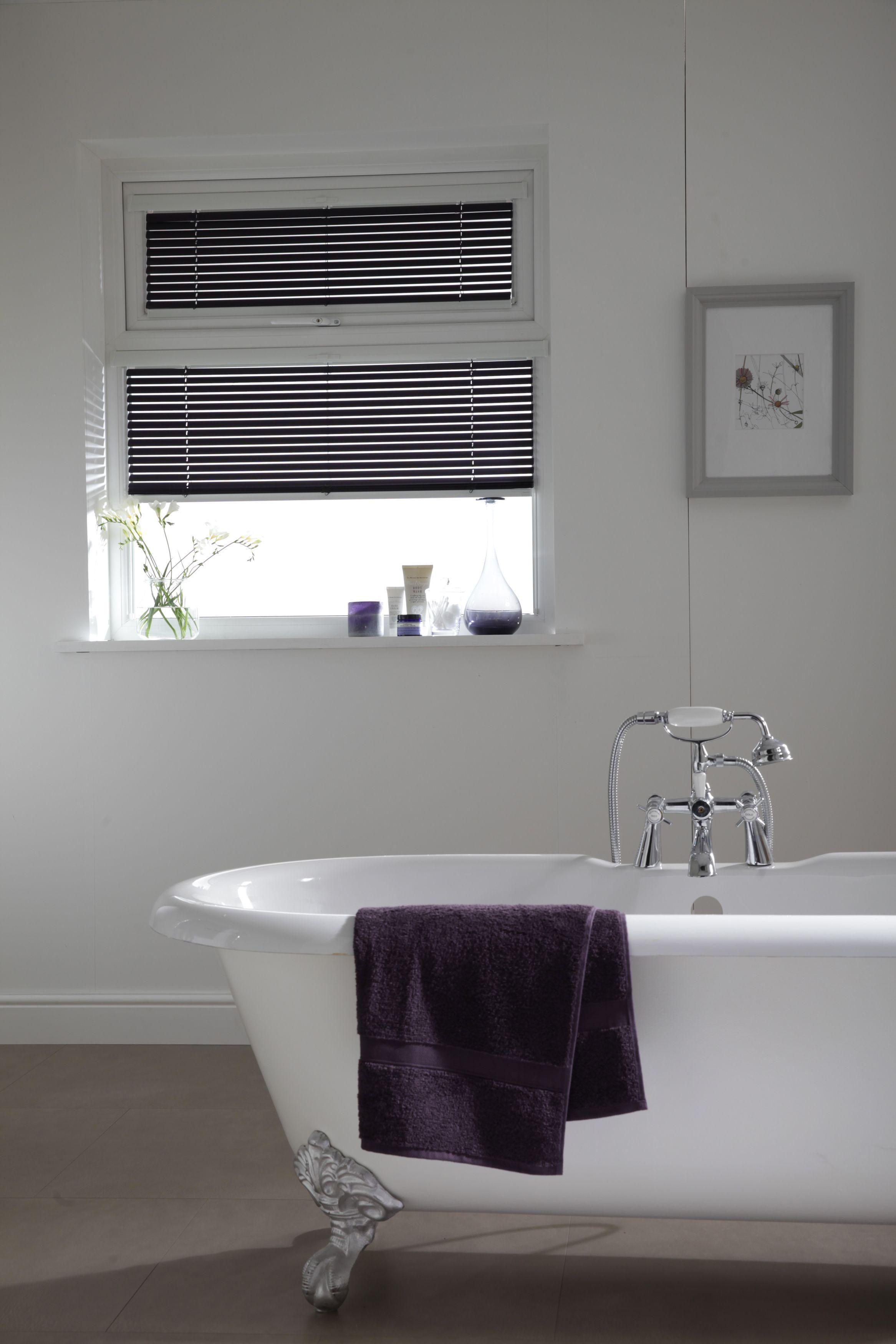 Purple venetian blind from apollo blinds purple blinds bathroom
