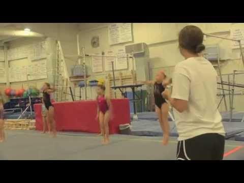 All Access Workouts: TOP Training at Cincinnati Gymnastics - YouTube