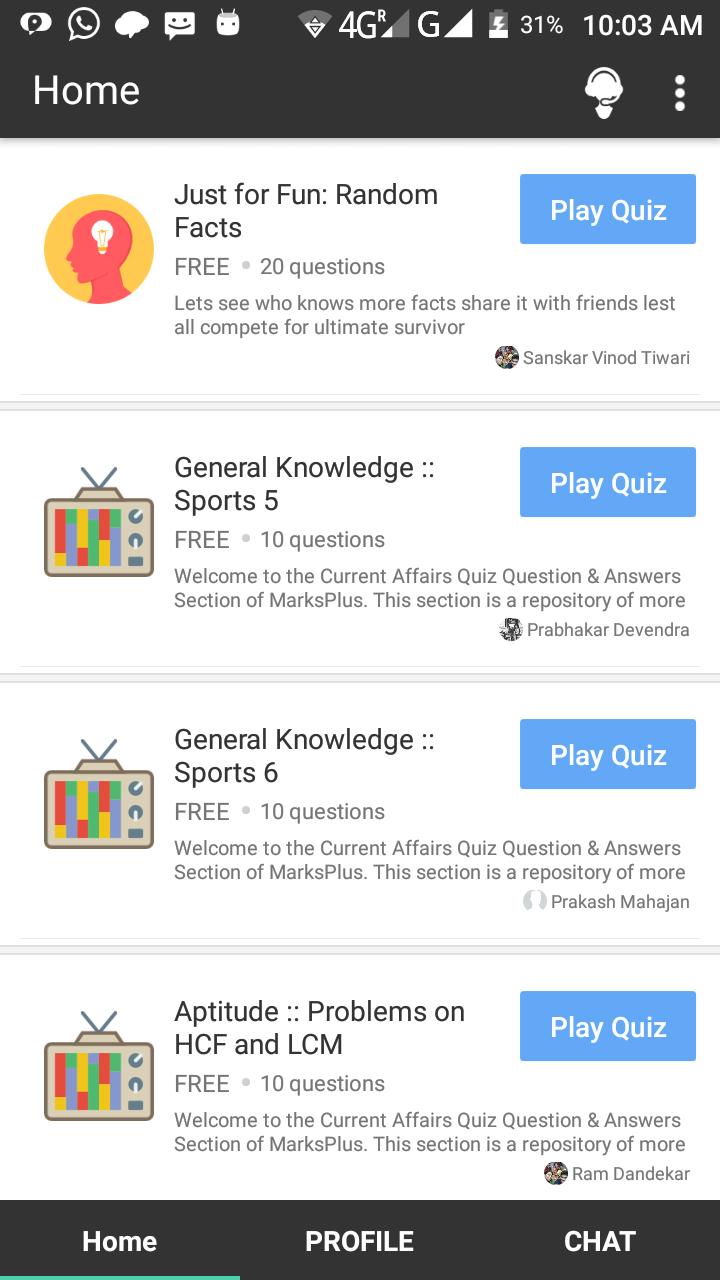 Pin by VINOD BIHARI TIWARI on Best Quiz Maker | Quiz maker, App, App