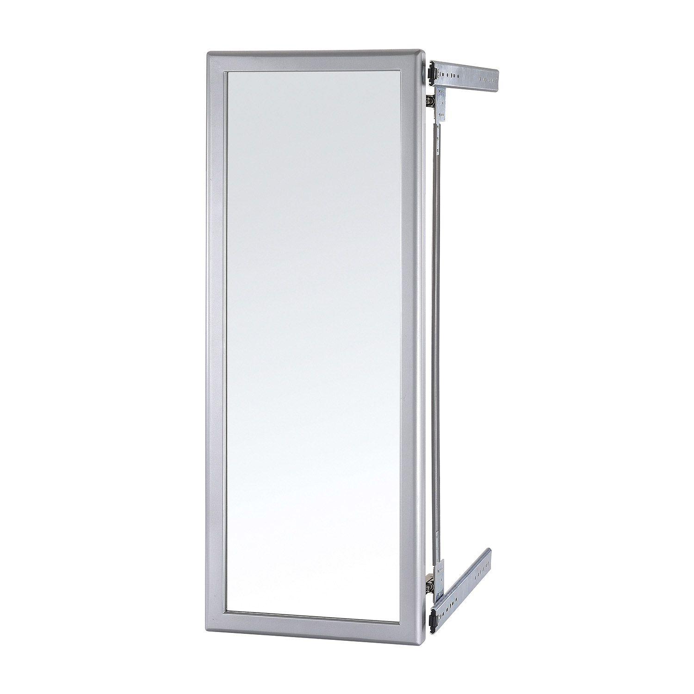 Miroir Coulissant Escamotable L 5 X H 80 X P 30 Cm 36 95 Miroir Carrelage Interieur Decoration