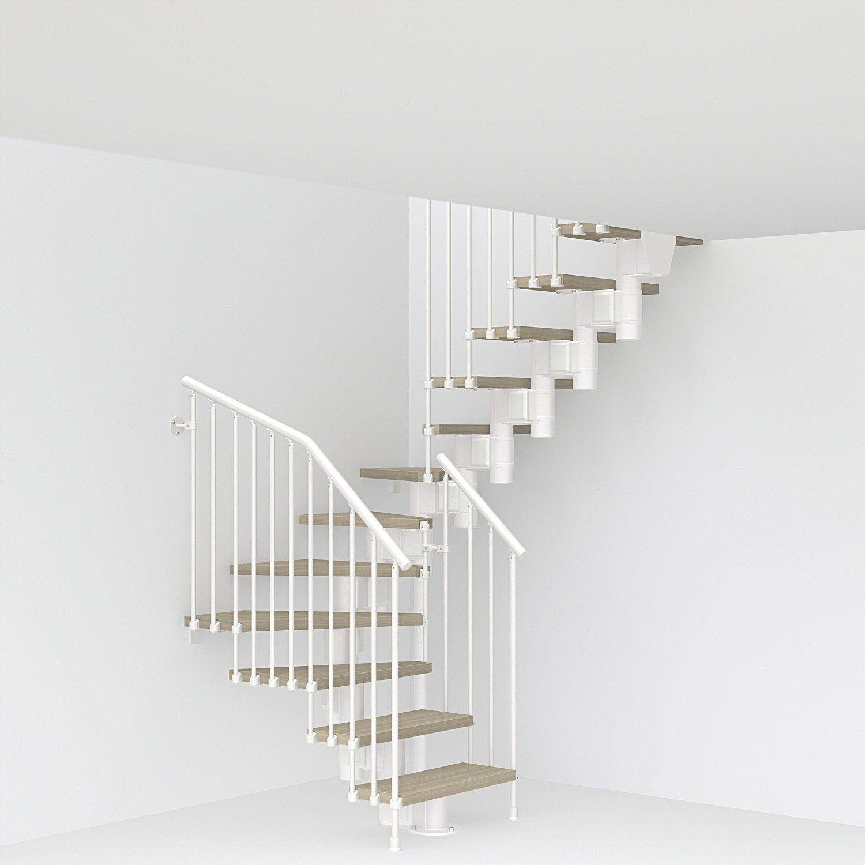 Escalier Double Quarts Tournants Escalier A Volee Long Structure Acier Marche Bo Pixima Escalier Prefabrique Escalier 2 4 Tournant Et Plan Escalier