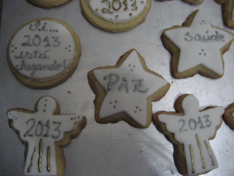 doces decorados ano novo - Pesquisa Google