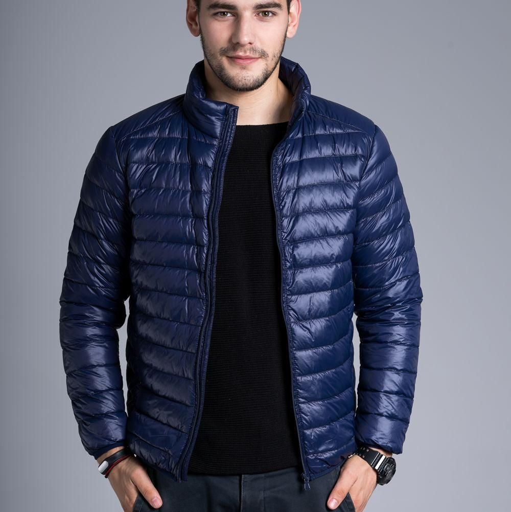 CHERRY CHICK Men's Ultralight Packable Puffer Down Jacket Quilted ...