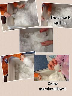 indoor and outdoor connection. Children can observe the snow is melting in indoor.