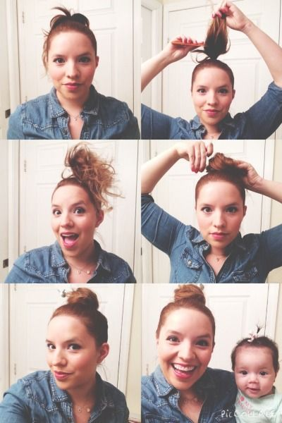 Topknot For Thin Thinning Hair Big Buns And Hair Loss On Tres