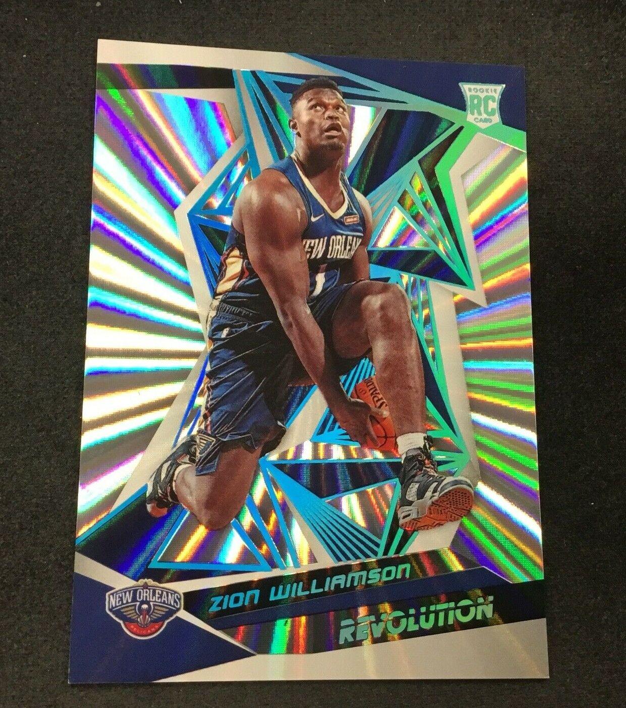 No Zion Williamson 19 20 Revolution Rc Galactics On Ebay Yet Zion Ebay Quick Links Revolution Basketball In 2020 Basketball Cards Basketball Players Painted Books