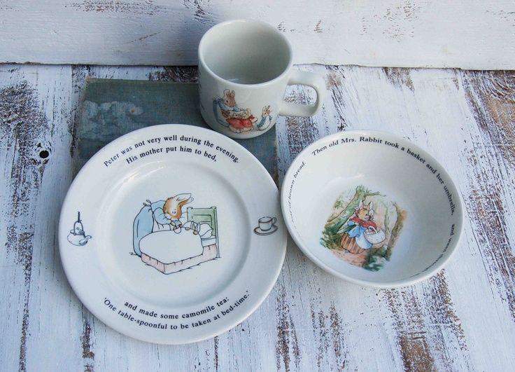 Beatrix Potter S Peter Rabbit Set