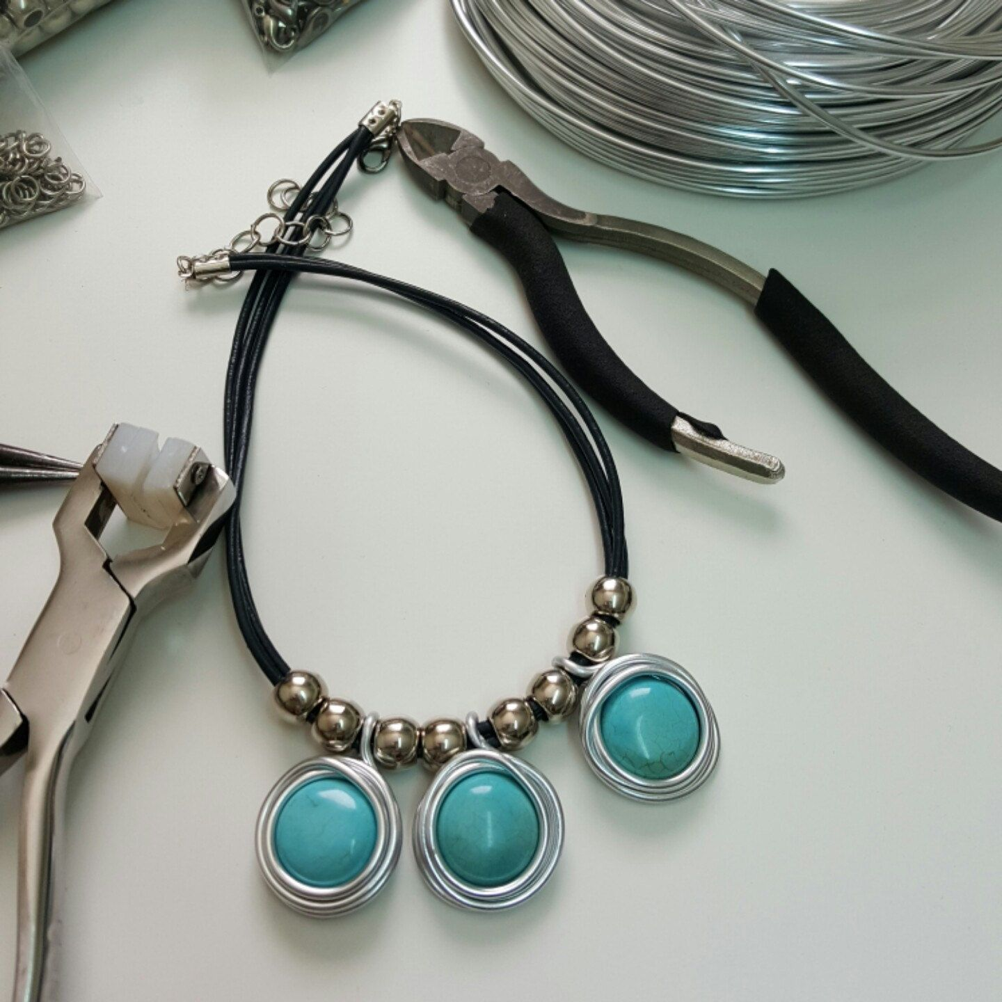 Silver And Turquoise, Turquoise Drop Earrings, December Birthstone ...