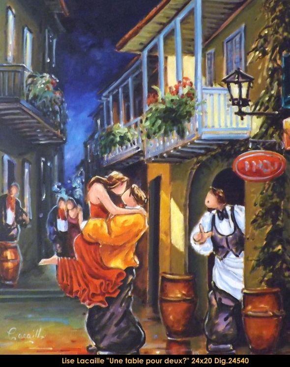 Lise Lacaille Original Oil Painting On Canvas Liselacaille Art