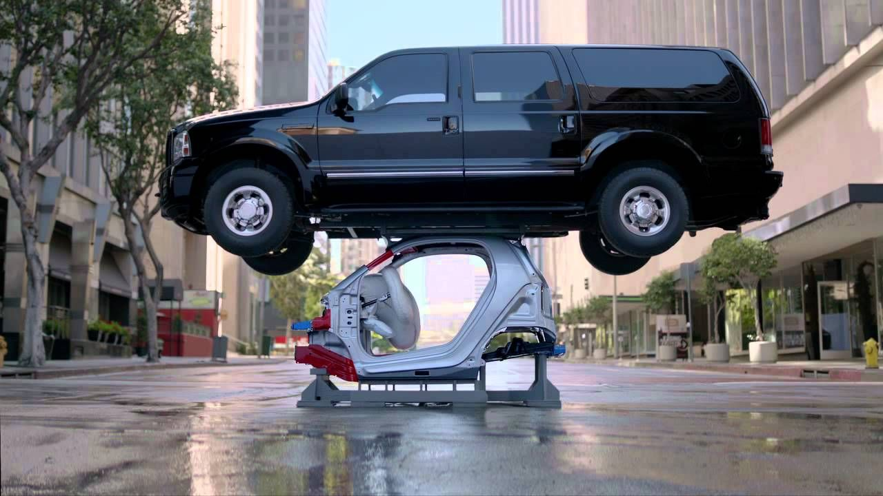 SMART CAR IS STRONG ENOUGH TO HOLD A 7,000LB SUV | QNR | Québec News ...