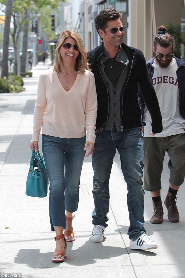 Lori Loughlin And John Stamos Rock Matching Sunglasses Lori