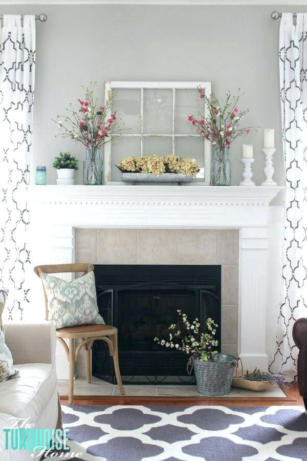 28 Farmhouse Mantel Decor Ideas to Make Your Home Unforgettable for