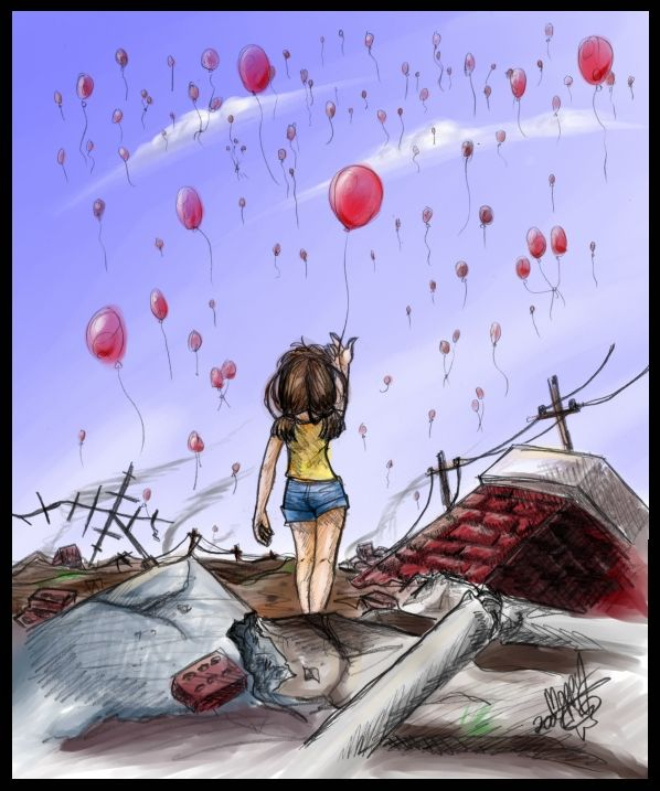 99 Red Balloons By Moppy