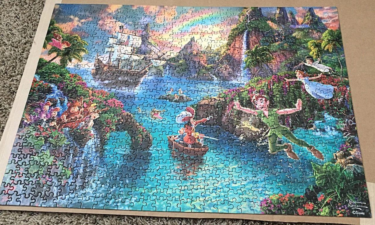 Thomas Kinkade Peter Pan's Neverland Thomas kinkade