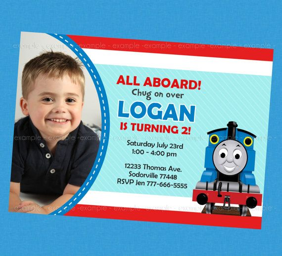 Thomas Favors and Gift Tags: Reserved Listing. $50.00, via