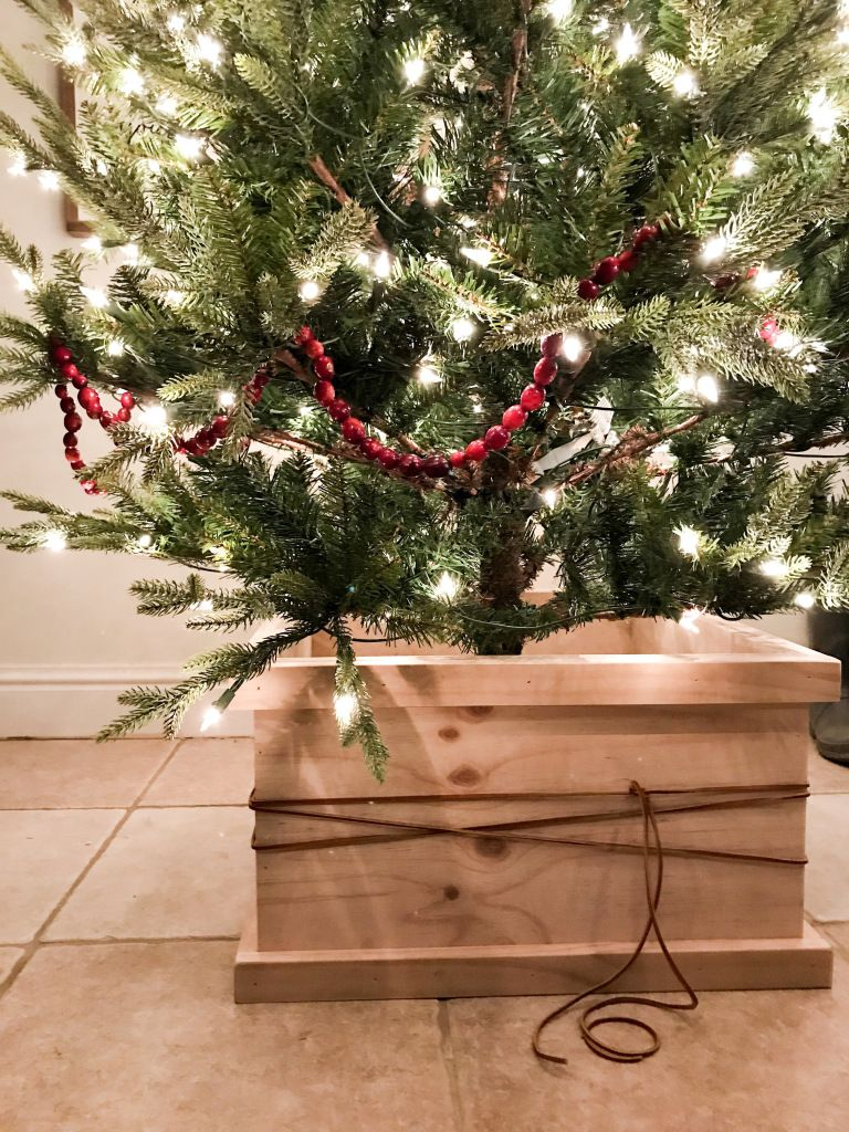 Diy Christmas Tree Box Christmas Tree Box Diy Christmas Tree Diy Christmas Tree Skirt