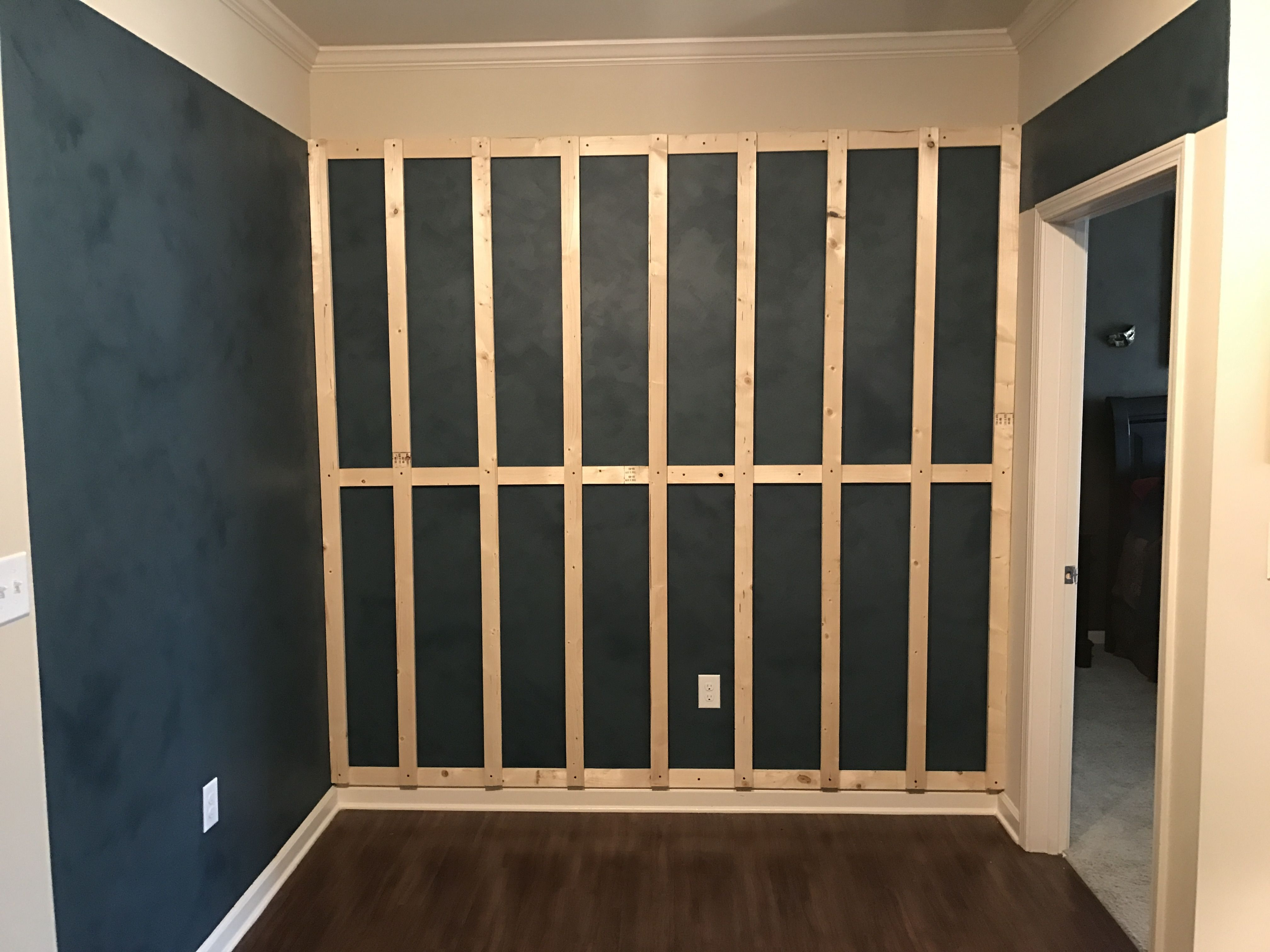 Apply 1 X 3 X 5 8 Southern Yellow Pine Furring Strips Horizontally To The Wall Secure To At Least 3 Or 4 Stud Walls Apartment Upgrade Southern Yellow Pine