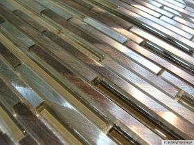 fliesentopshop effektmosaik mosaik fliesen silber braun aluminium metall matt gl nzend glas. Black Bedroom Furniture Sets. Home Design Ideas