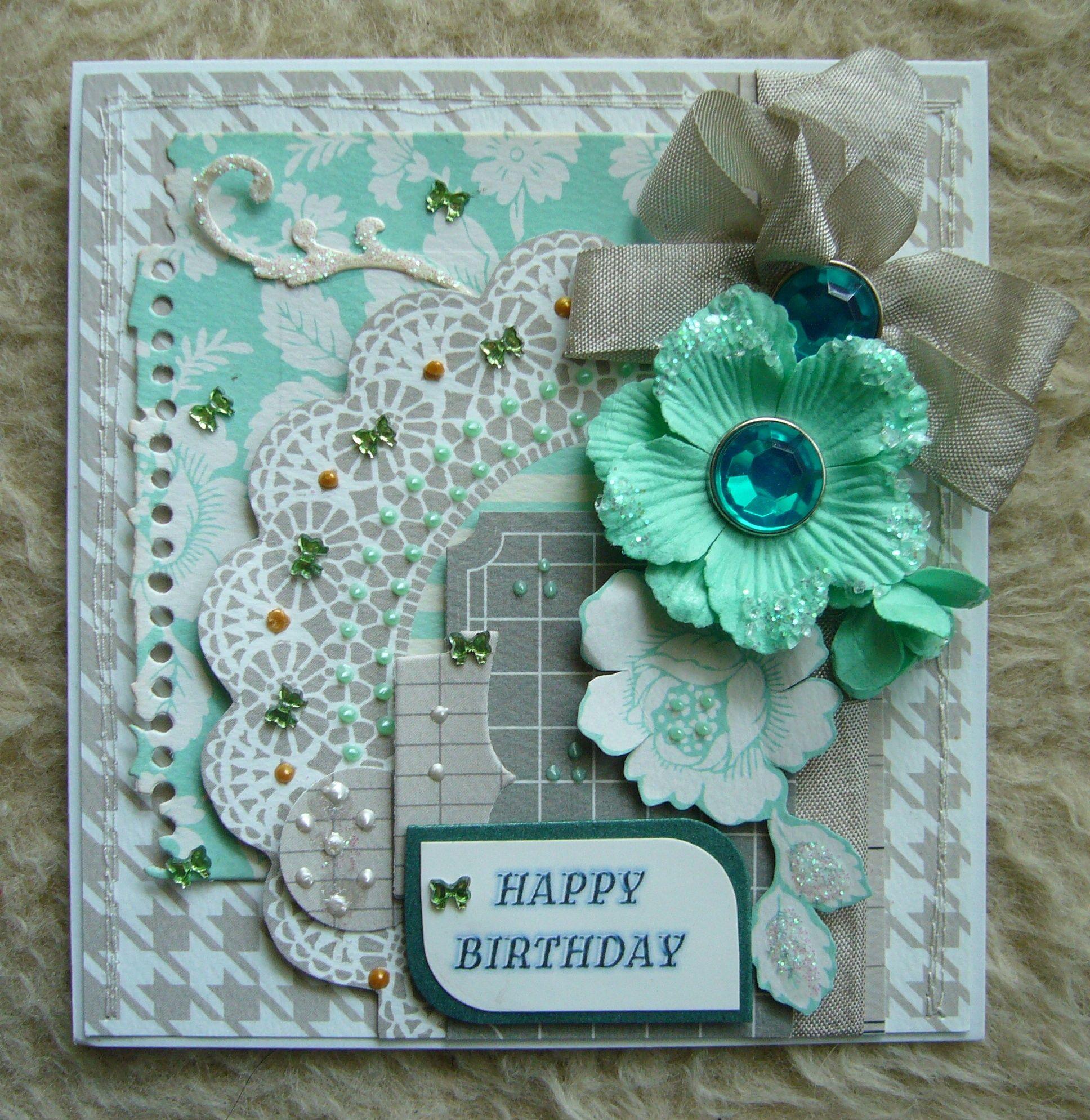 happy birthday  my handmade cards  pinterest
