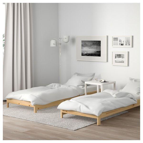 Utaker Letto Impilabile Con 2 Materassi Pino Moshult Rigido 80x200 Cm Letto Ikea Idee Letto Idee Ikea