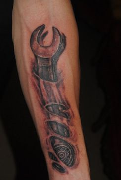 5c7492b4b Wrench Tattoos Top wrench tattoo by images for pinterest tattoos ...