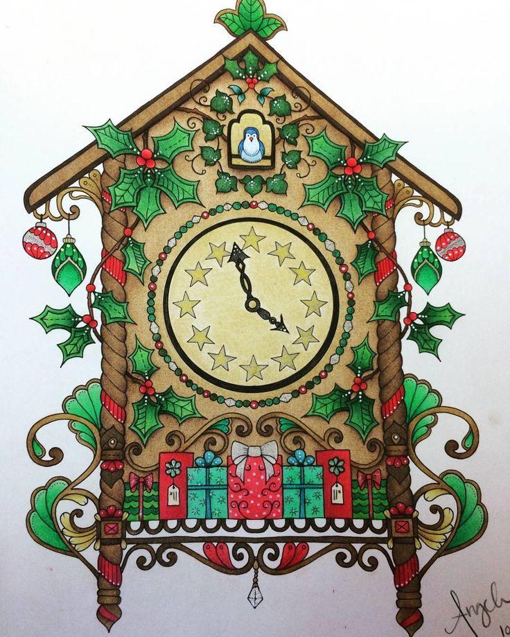 Image result for johanna basford christmas gingerbread house