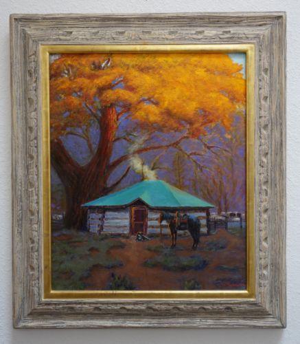 Vintage-Original-Ken-Payne-1938-2012-Cowboy-Western-Listed-Artist-3900-No-Res