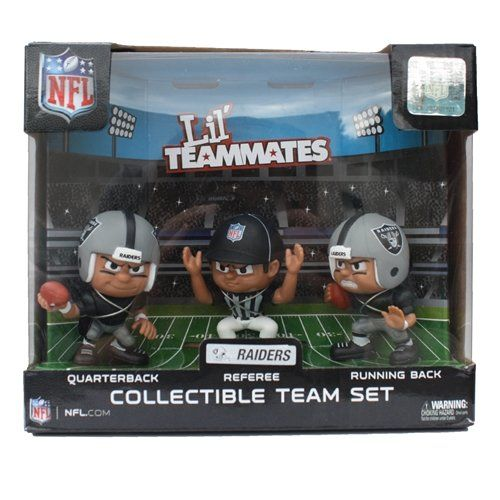 8d2d3bdb Oakland Raiders Figurine   Cool Oakland Raiders Fan Gear   Nfl ...