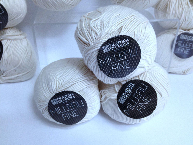 Vintage Cotton Yarn 100 Cotton Millefili Fine Filatura Di Crosa