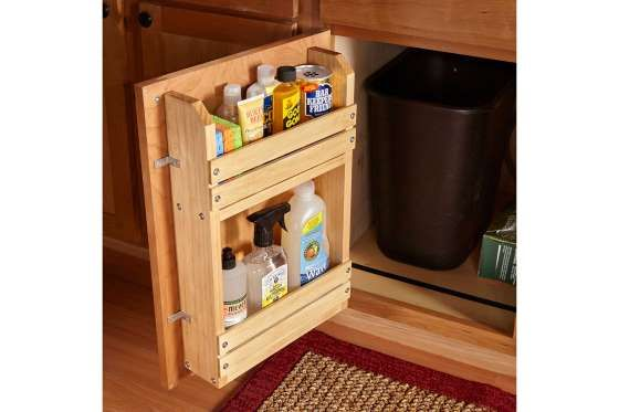 Hereu0027s A Simple Project To Bring Order To The Chaos: A Door Mounted Storage