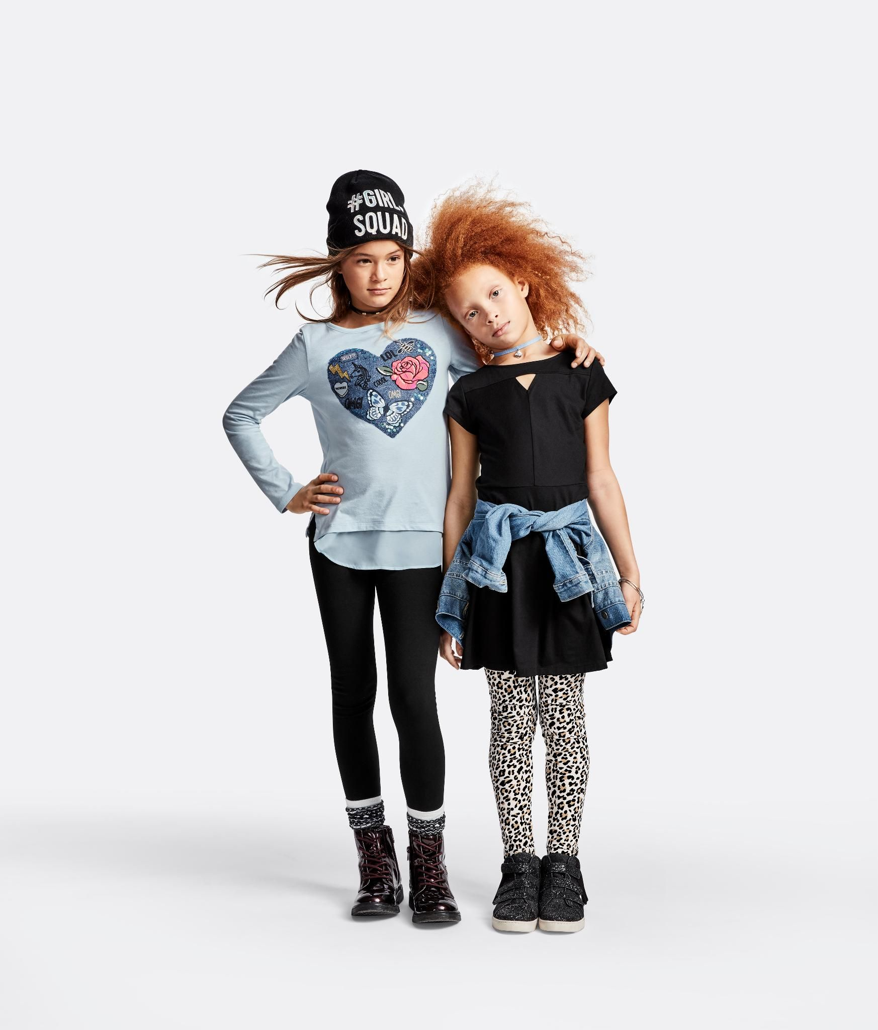 Girls Fashion Kids Clothes Back To School Outfit