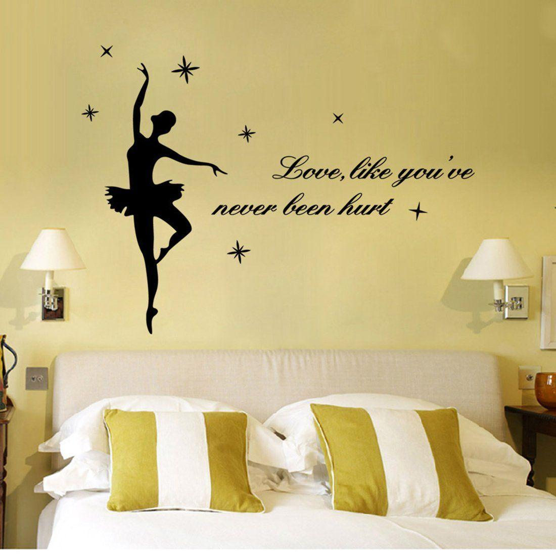 Amazon.com: YUFENG Love,like You\'ve Never Been Hurt Ballet Dance ...