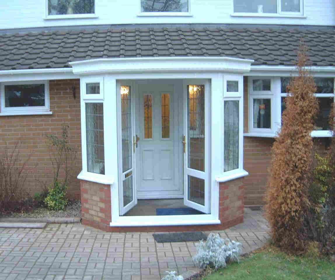 Porches cheap porches per fit windows mobile homes for Porch designs for bungalows uk