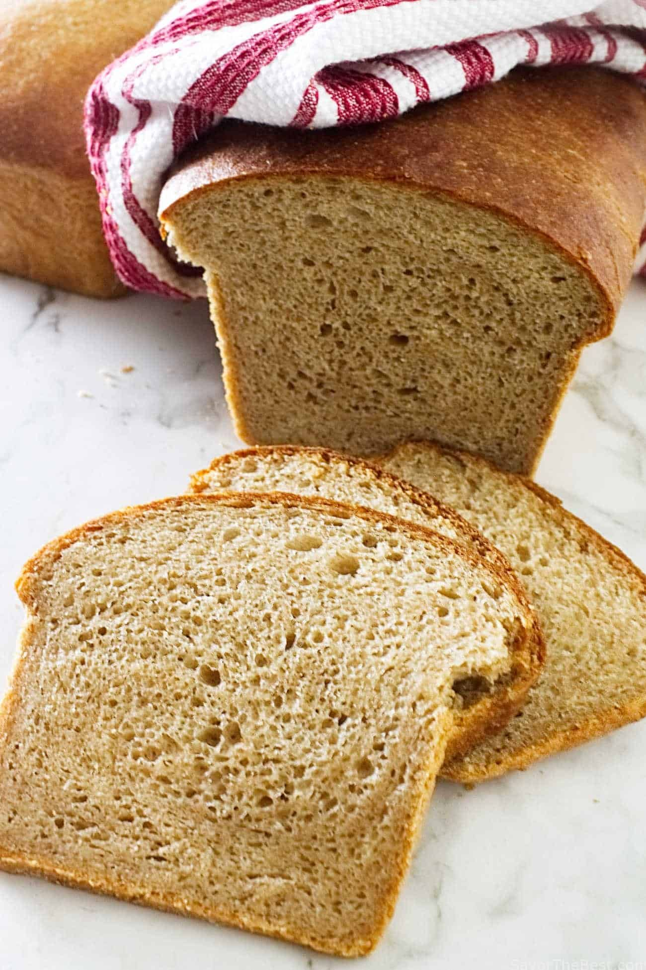 Sprouted Wheat Buttermilk Sandwich Bread Recipe Sprouted Bread Recipe Sprouted Wheat Bread Bread Recipes