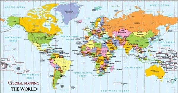 All The World Capitals In 2020 World Map With Countries World Map Printable World Map Wallpaper