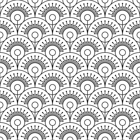 pins on a pin head fabric by sef on Spoonflower - custom fabric