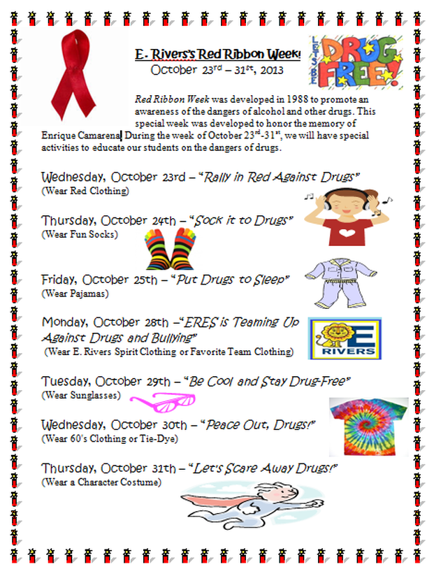 Red ribbon week school pinterest red ribbon week pta and red ribbon week saigontimesfo