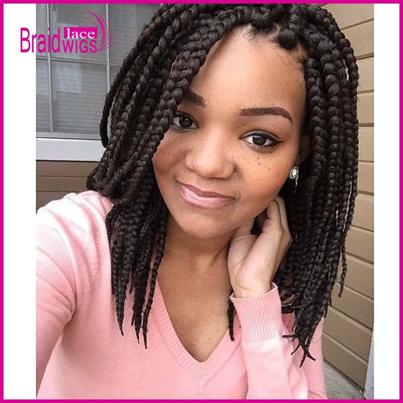 Enjoyable Box Braids Colored Box Braids And Big Box Braids On Pinterest Short Hairstyles For Black Women Fulllsitofus