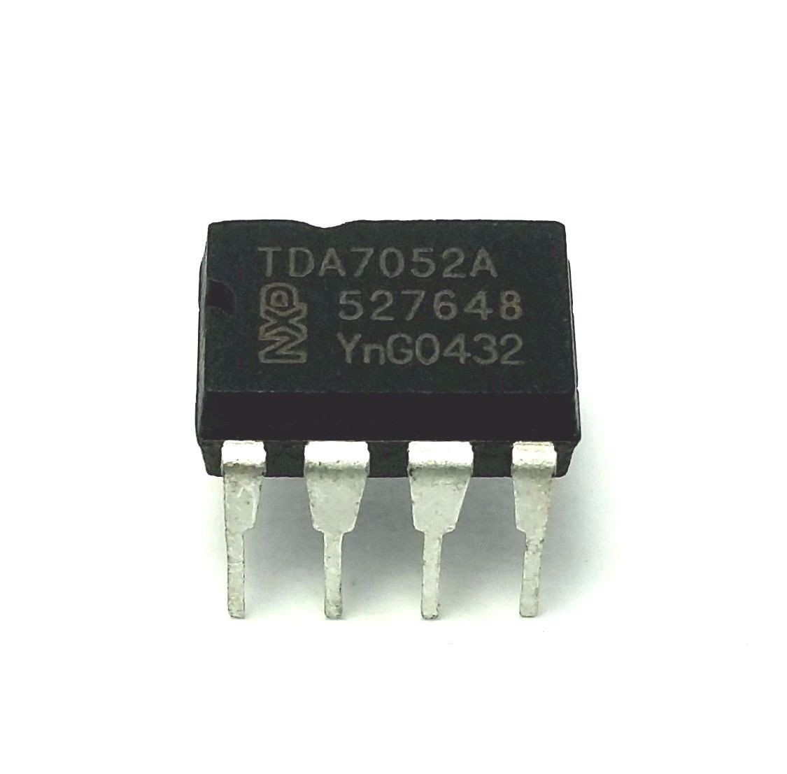 Low Voltage Amplifier Circuit Using Tda7052 Eleccircuit