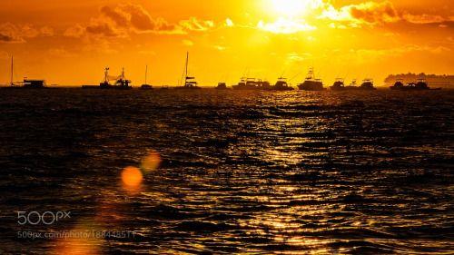 Orange sunset by jonasgabor  jonasgabor