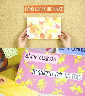 En este video tutorial te explico cómo hacer sobres de papel de la manera más sencilla.