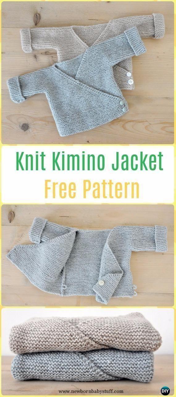 Baby Knitting Patterns Baby Knitting Patterns Knit Baby Knit Kimono ...